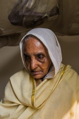 Sushila Pal (76) became a widow at the age of 26. She came from West Bengal to Vrindavan 20 years ago. She has no children and no one to look after her.