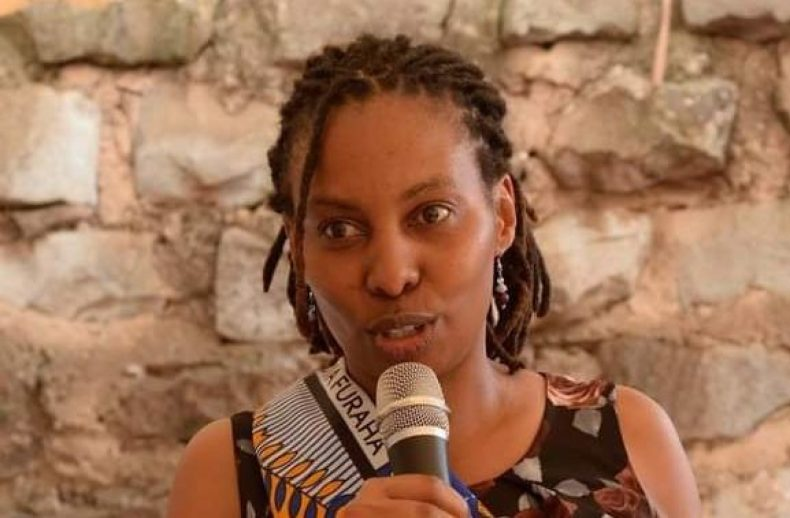 Regina Mutiru of the Gender Alliance