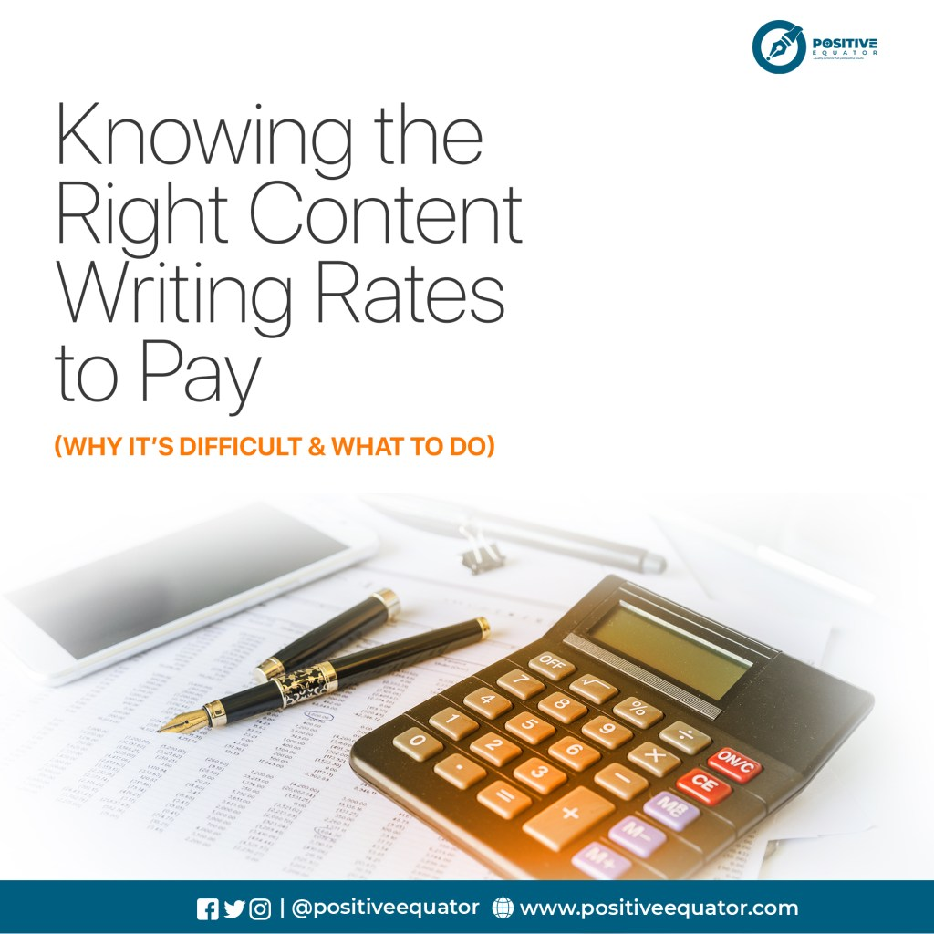 Knowing the Right Content Rate to Pay