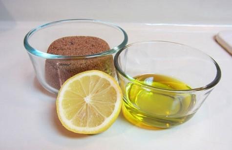 Lemon Honey and Sugar Scrub