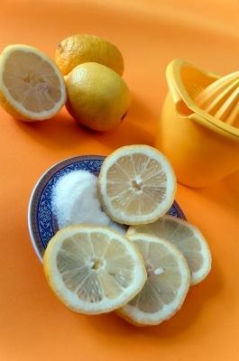 Sugar and Lemon Scrub