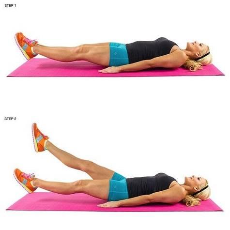 Exercise Ball Crunches