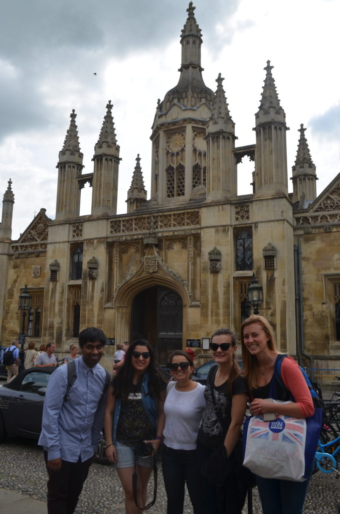 In front of Kings College