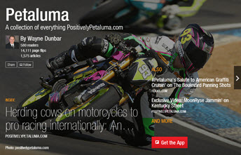 How to use Petaluma Flipboard Magazine