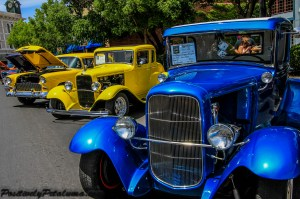 Model A & Yellow '32 Coupe