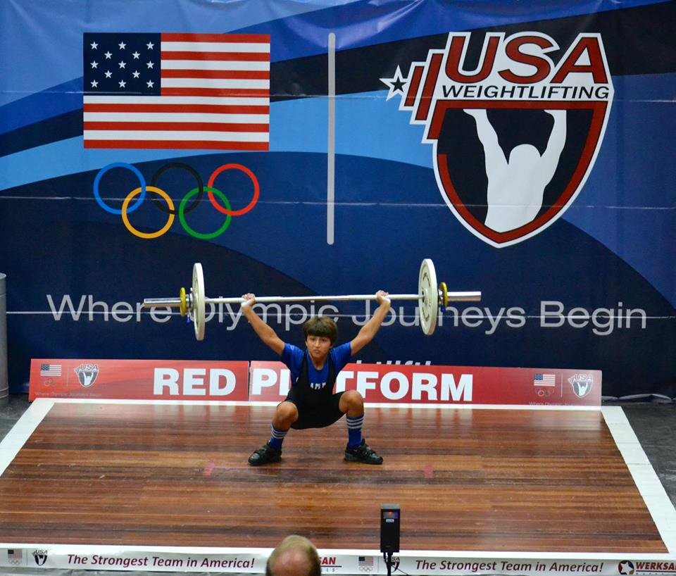 UPDATE: #Petaluma's William Prokop is the 2014 USA Weightlifting Boys U11 National Champion