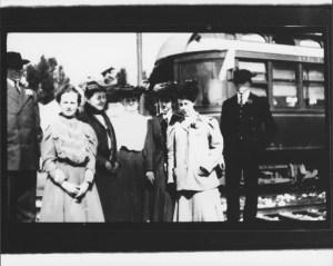 McNear Family At Petaluma Depot