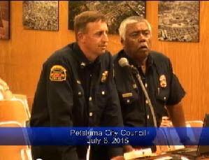 Firefighters Presentation of Disaster Preparedness