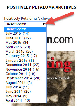 Positively Petaluma Archives By Month
