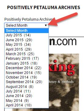 Positively Petaluma Archives By Month
