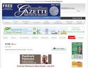 Sonoma Gazette