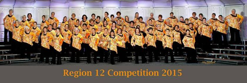 Pacific Empire Chorus Region 12 Competition 2015