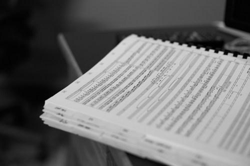 Jasha Klebe Petaluma Composer Music Score