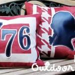 Patriotic Outdoor Pillows