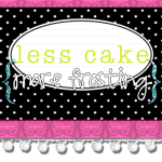 Creating in a Crunch – A Printable Primer and Freebie from Less Cake {more frosting}