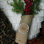 Burlap Greenery Pouches (Swell Noel #38)