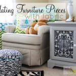 How to Dress Up Furniture with Fabric
