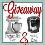 WIN a KitchenAid Stand Mixer and a Keurig Elite!!