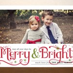 Saturday Seven Party + Minted Holiday Card Giveaway!