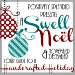 Chalkboard Christmas Wrapping Paper + Free Printable (Swell Noel #17)