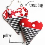 Heart Pocket Pillows & Treat Bags (Two Projects, One Pattern!)