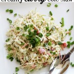 Creamy Curry Cole Slaw