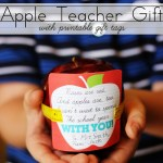 First-Day-of-School Apple Teacher Gift + Free Printable Gift Tags