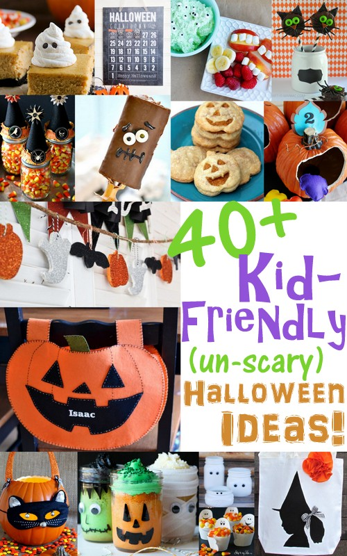 If you have kids, this is a terrific round-up! 40+ Kid-Friendly, Un-Scary Halloween Ideas at Positively Splendid