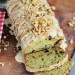 Avocado-Cranberry Bread with Citrus-Vanilla Glaze