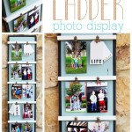 DIY Ladder Photo Display #3MDIY