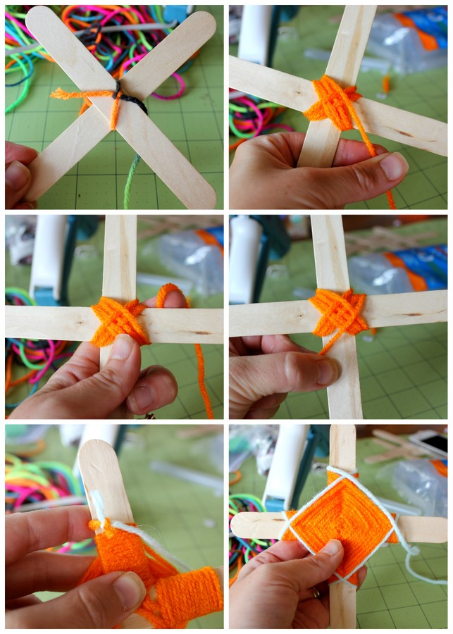 How to make God's eyes - Such a fun, classic craft for kids!