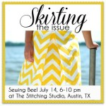 An Invitation to Sew with Me + 5 Quick & Easy Skirt Tutorials #SkirtingtheIssue