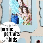 How to Take Great Portraits of Your Kids + $50 Cut It Out Frames Giveaway!