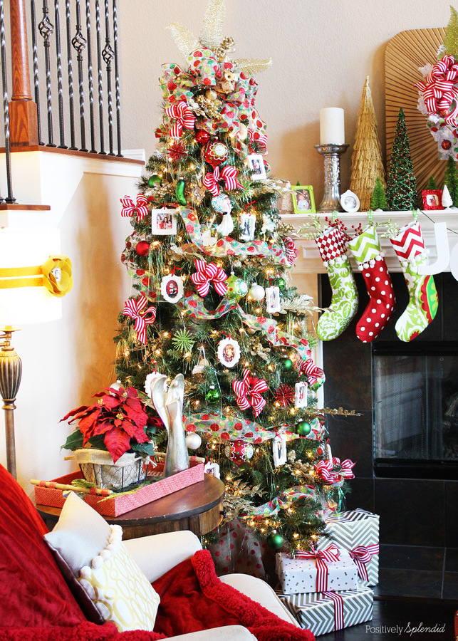 Christmas Memory Tree - Michaels Dream Tree Challenge #MichaelsMakers #TagaTree