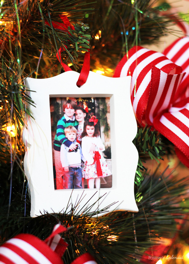 Photo Christmas Ornaments - Christmas Memory Tree #MichaelsMakers #TagaTree