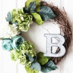 Paris-Inspired Floral Spring Wreath