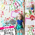 DIY Fabric Cork Memo Board
