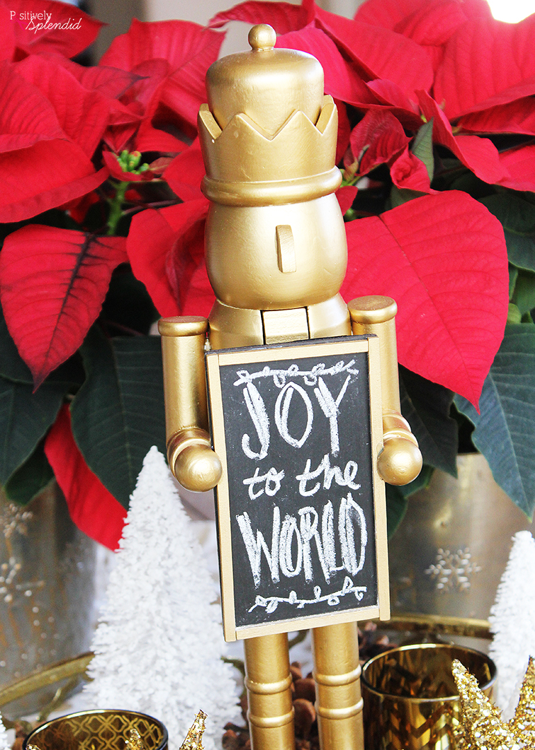Nutcracker Christmas Centerpiece