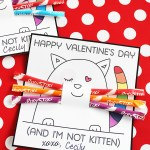 Printable Kitten Valentines (Easy and totally adorable!)