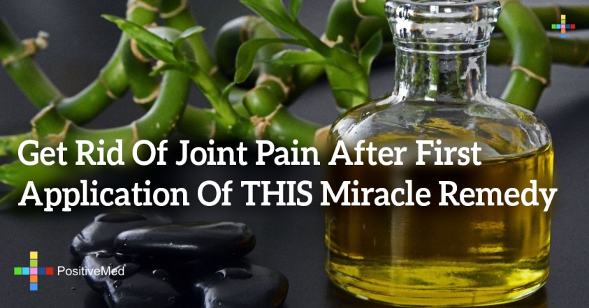 Get Rid Of Joint Pain After First Application Of THIS ...
