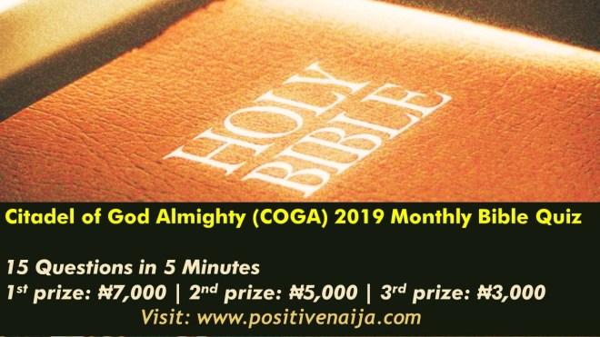 COGA Bible Quiz