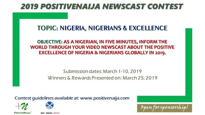 2019 PositiveNaija Newscast Contest