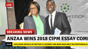 Anzaa Msonter cipm 2018 essay competition