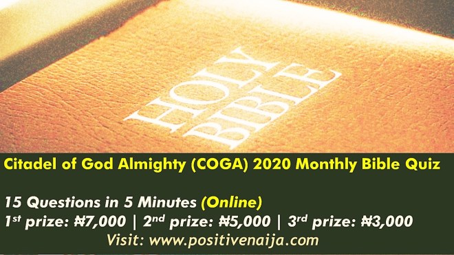 COGA Cathedral Monthly