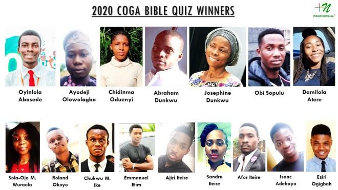 2020 COGA Bible Quiz Winners - PositiveNaija