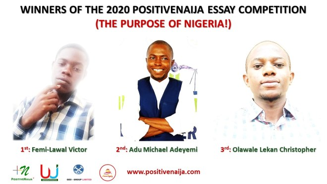 Femi-Lawal Victor Wins 2020 PositiveNaija Essay Competition