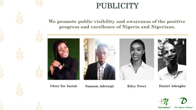 PositiveNaija Publicity Team