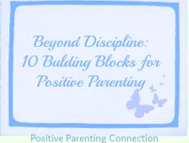 Positive Parenting - Discipline Series