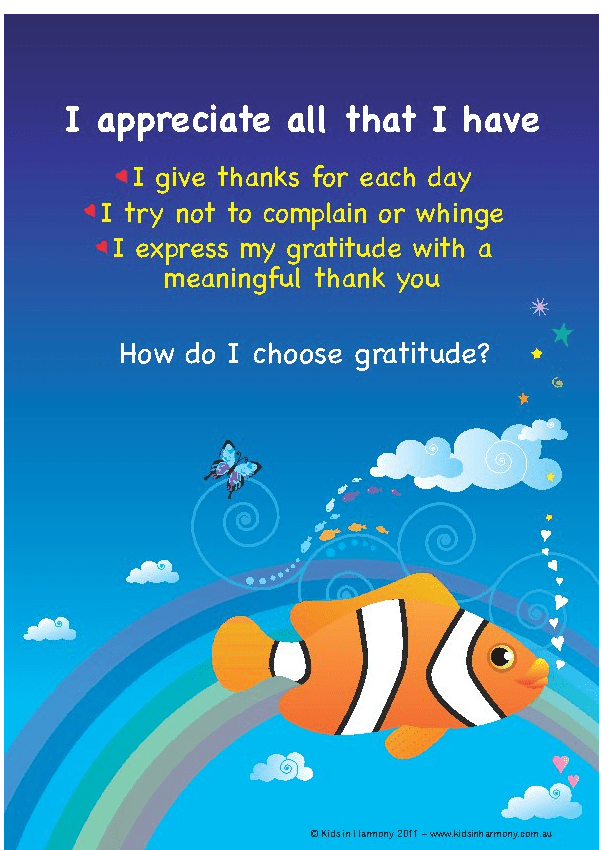 Nurturing Gratitude At Home