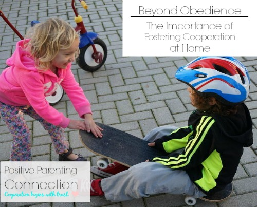 Beyond Obedience: The Importance of Fostering Cooperation at Home